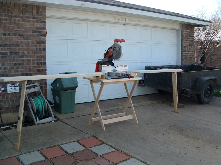 Wooden Miter Saw Stand Thisiscarpentry