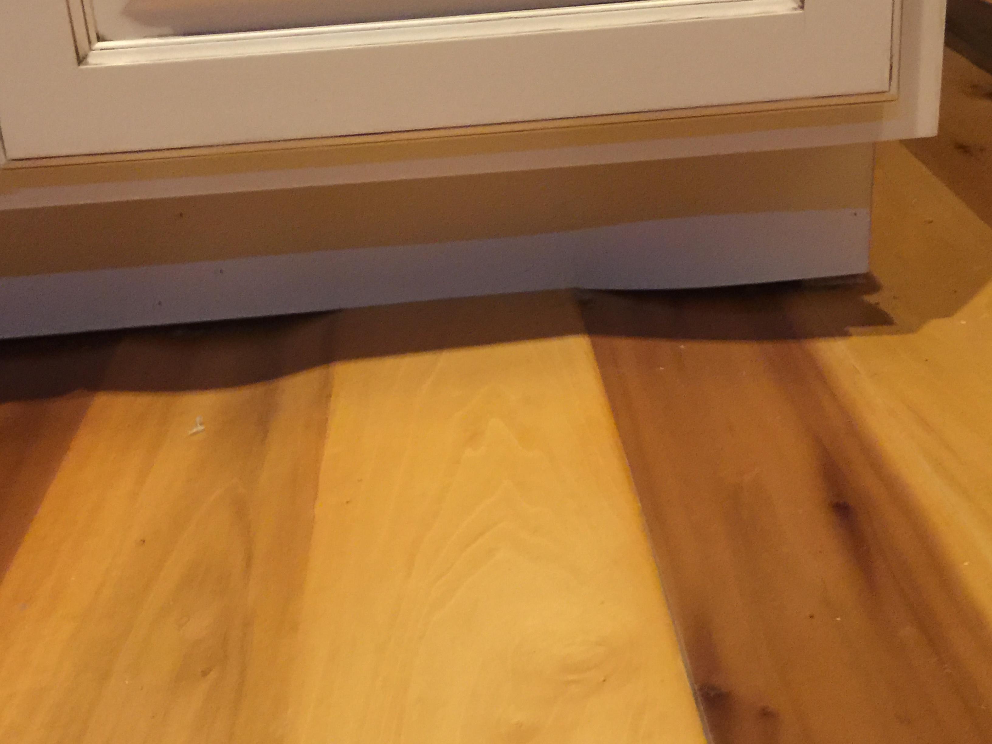 Bathroom Floor Bowing : Understanding moisture content and wood movement