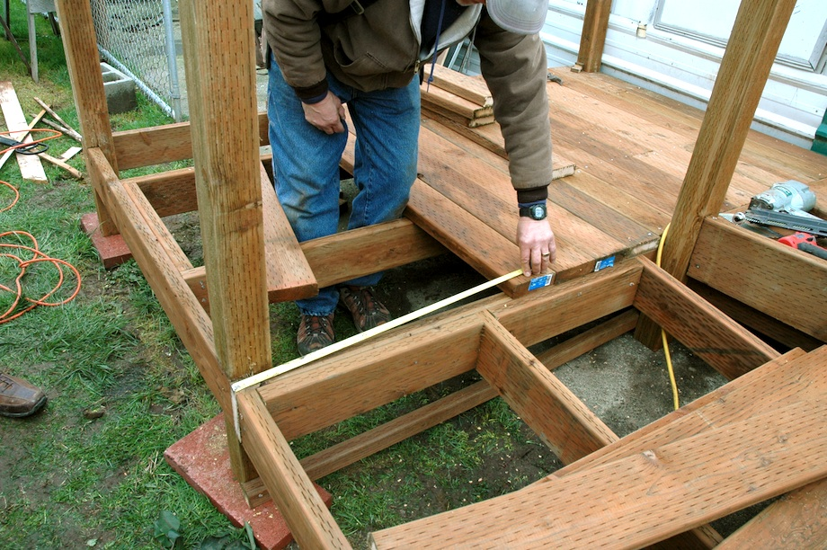 how to build a 15 foot ramp for exterior steps