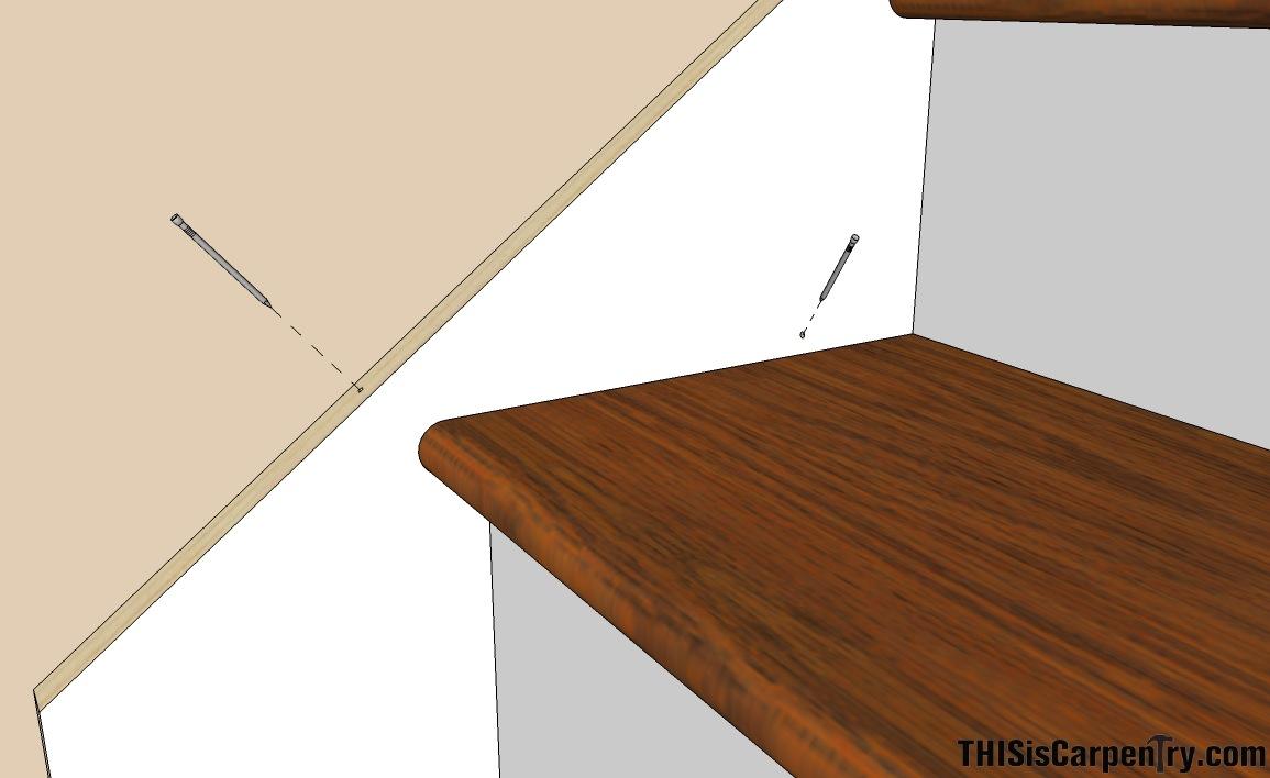 Scribing Skirt Boards Thisiscarpentry