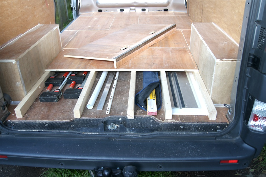 Van racking thisiscarpentry for Van ply lining templates