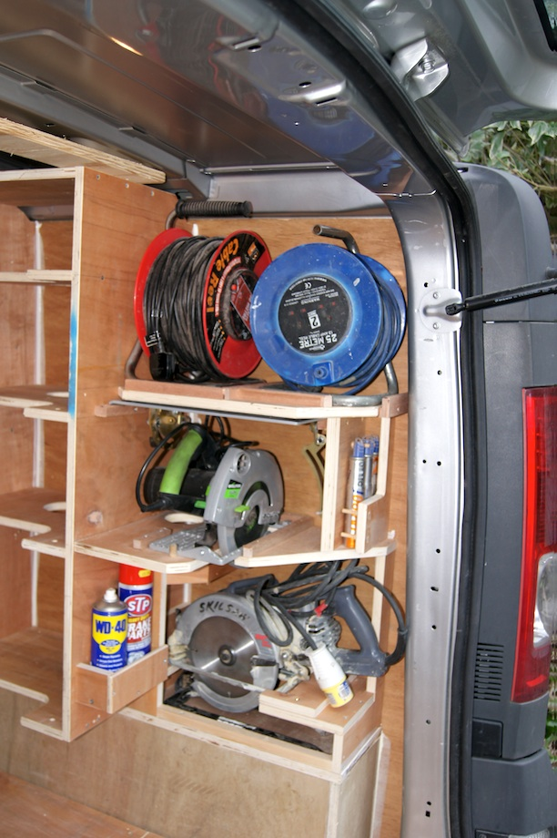 Van Racking Thisiscarpentry
