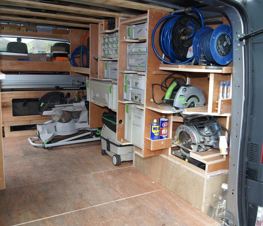 Tool Storage Tool Storage Ideas For Vans