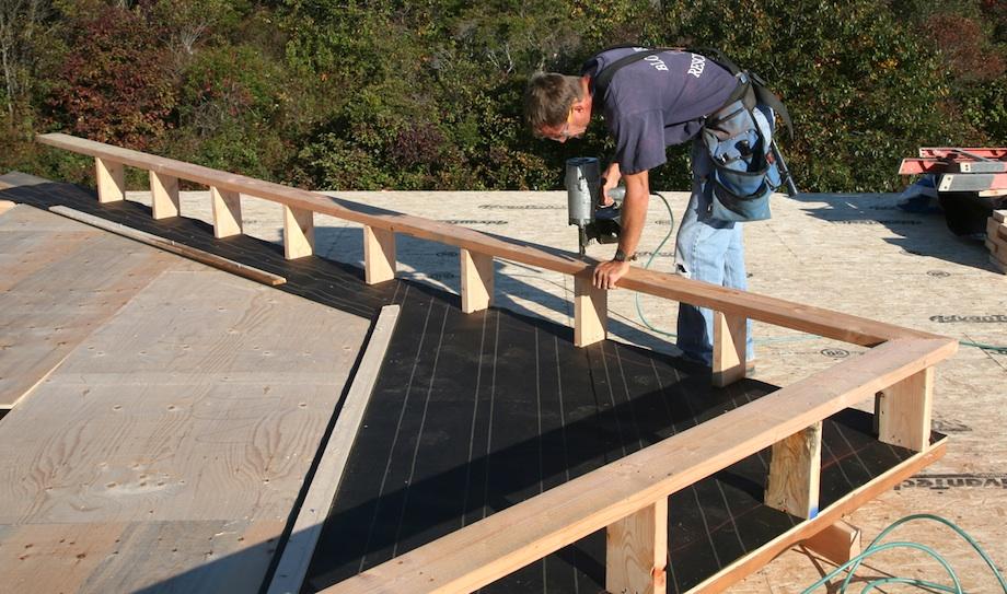 Raising Gable Walls Thisiscarpentry