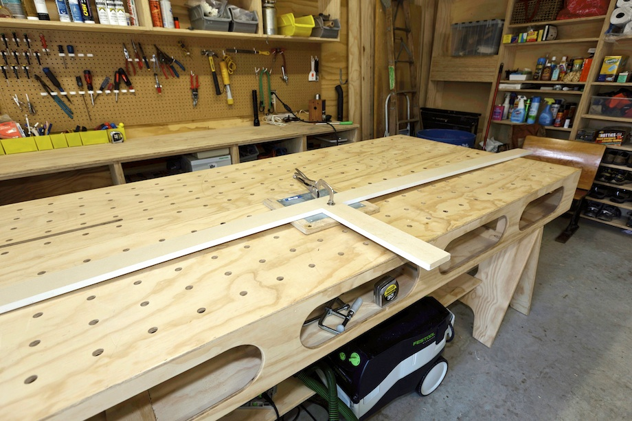 Wood Shop Work Bench