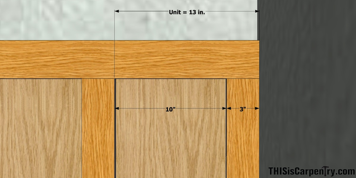 Wainscot Layout Made Easy | THISisCarpentry on install ceiling fan, install coffered ceiling, install sink, install soffit, install drywall, install home, install water softener,