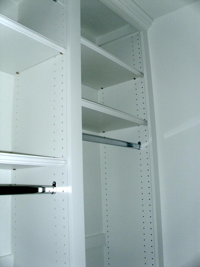 adjustable closets thisiscarpentry. Black Bedroom Furniture Sets. Home Design Ideas