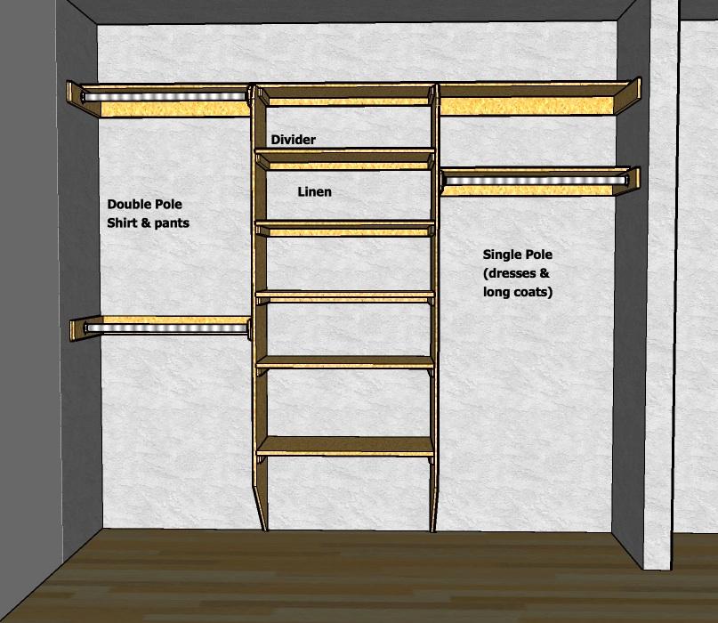 Closet Shelving Layout & Design | THISisCarpentry
