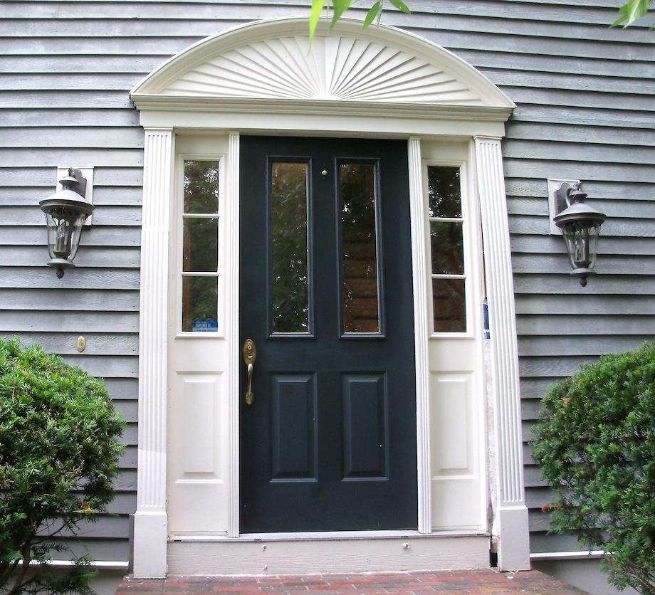 Exterior door trim molding quotes for Exterior front doors