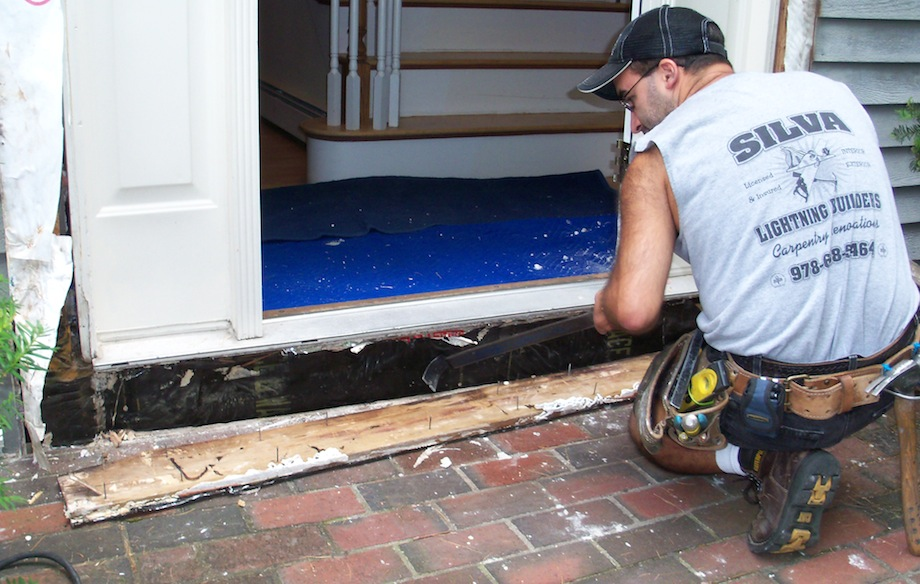Repairing A Rotten Door Entry Thisiscarpentry