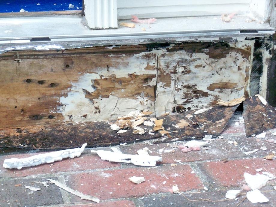 Repairing A Rotten Door Entry
