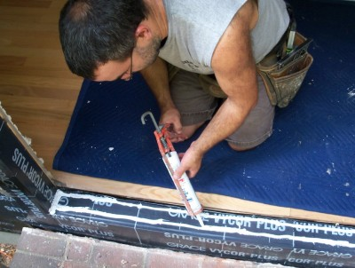 And If You Really Want To Prevent Any Possible Water Damage The Structure Self Sealing Membrane