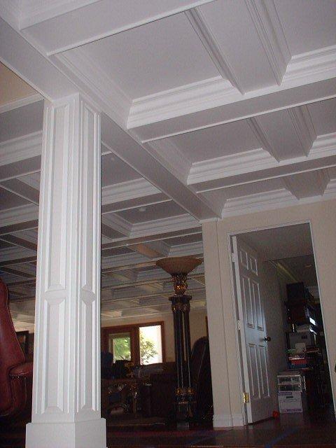 Styrofoam coffered ceiling 28 images bm3001 interior for Foam coffered ceiling