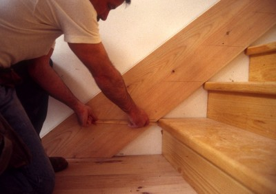 Scribing Stair Skirt Boards Revisited Thisiscarpentry