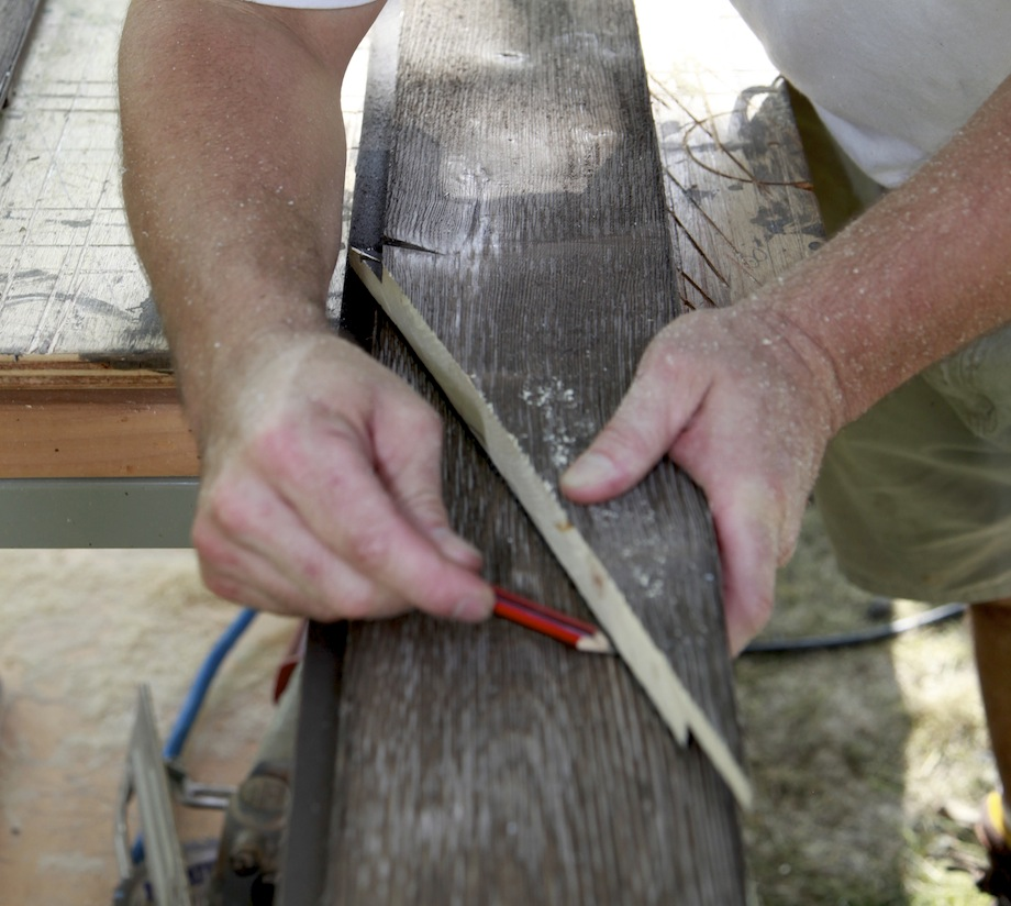 Cutting Gable End Siding Thisiscarpentry