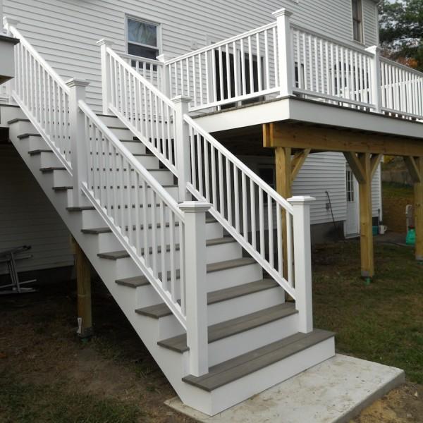 Attaching Bottom Deck Posts