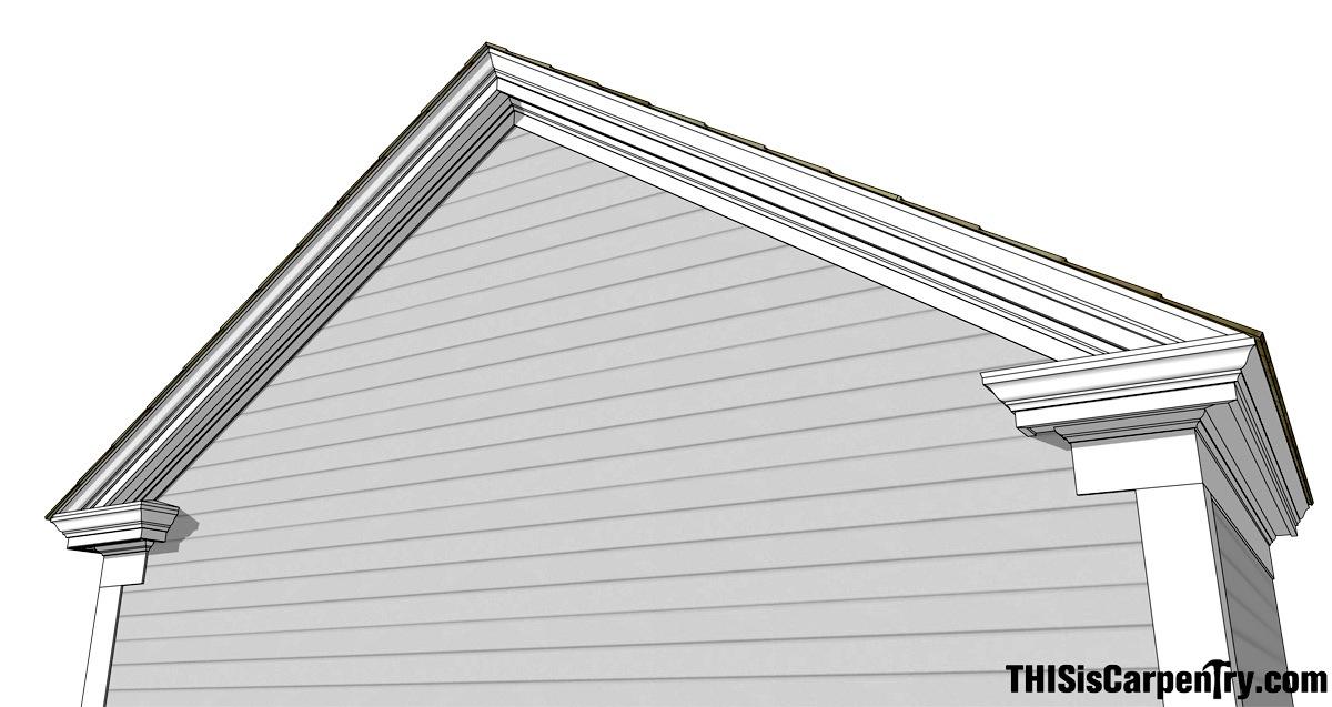 Eave Returns Interpreting Gyhr Details Thisiscarpentry