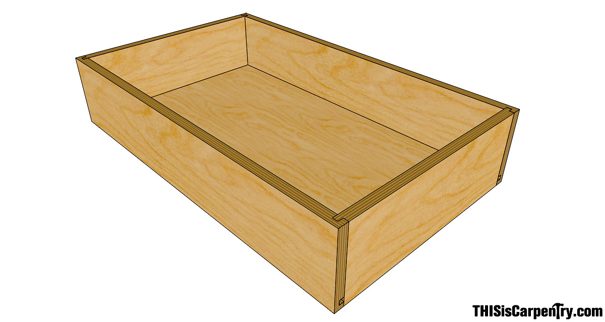 Wood Joints For Drawers ~ The quarter drawer system thisiscarpentry