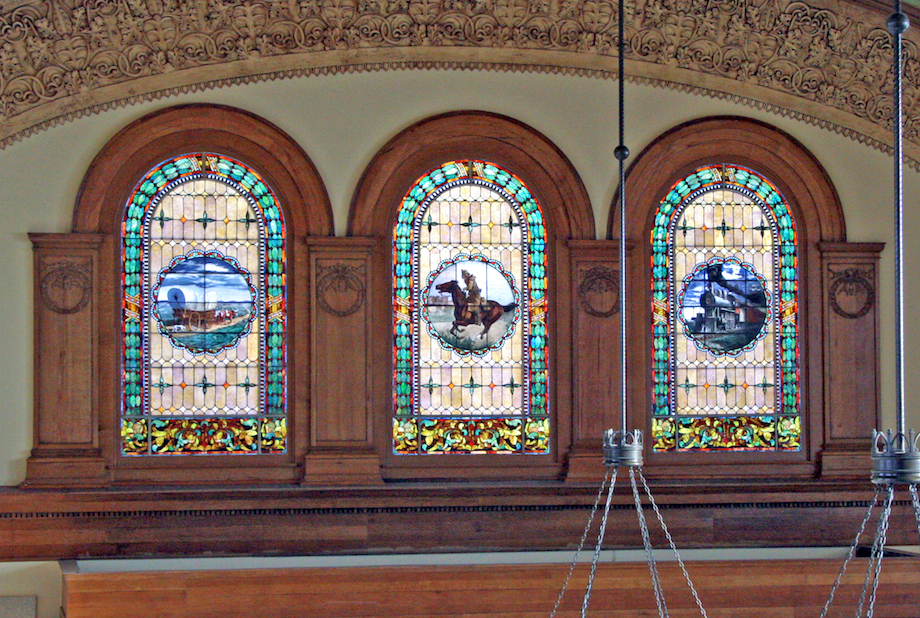 windows of change Santa Fe depot, ftw-1