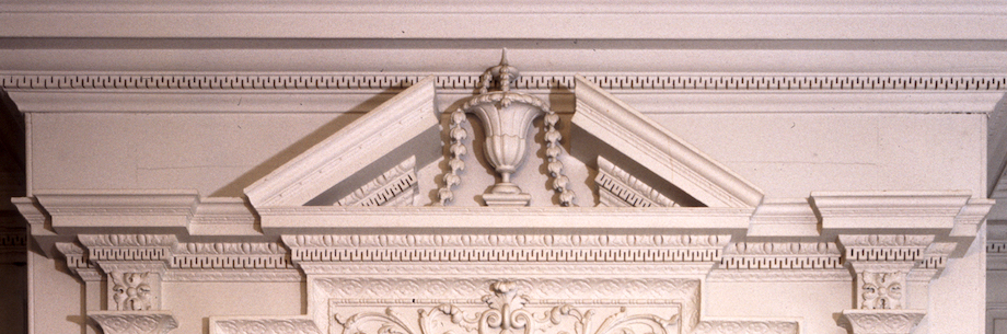 Humphrey Sommers_MainParlor-CU Pediment-1