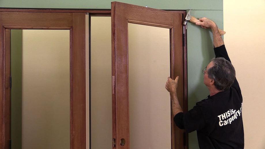 Installing a Pair of Doors-1