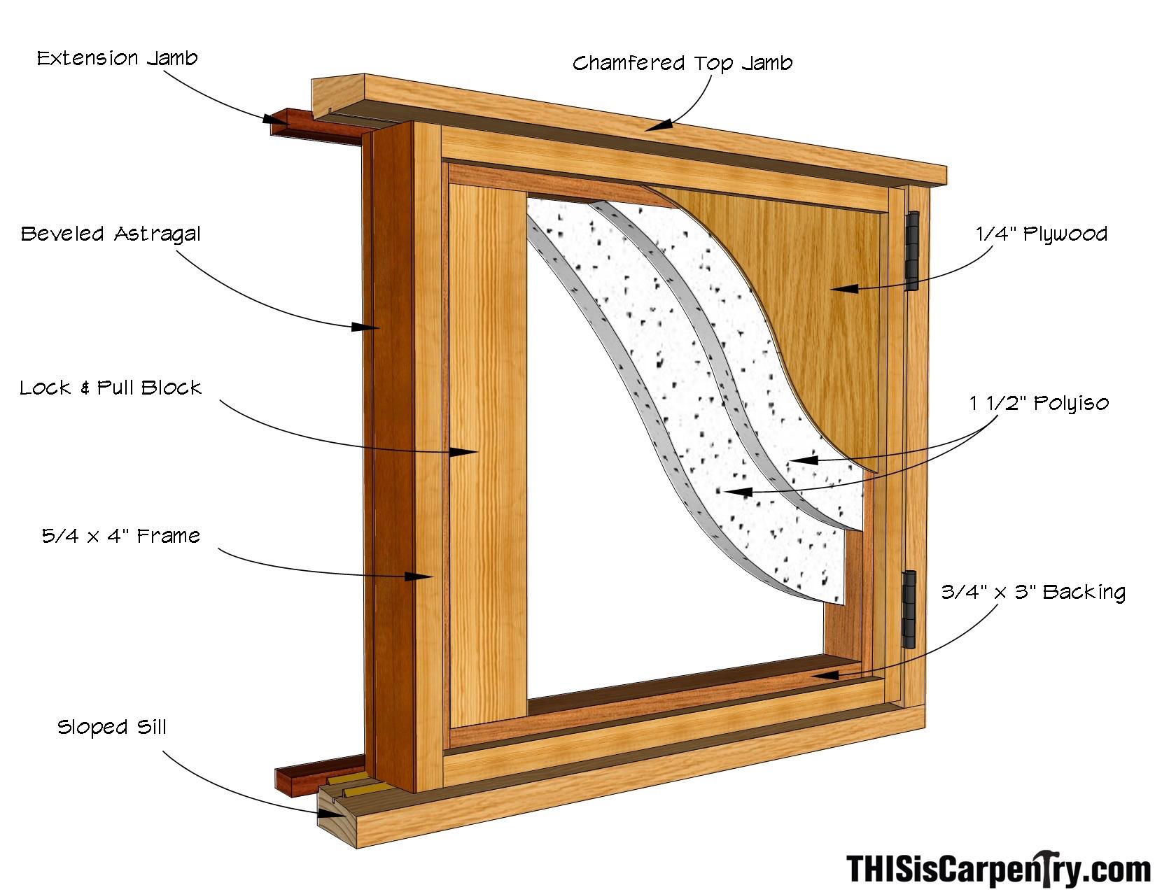 Firewood Doors 1C-1